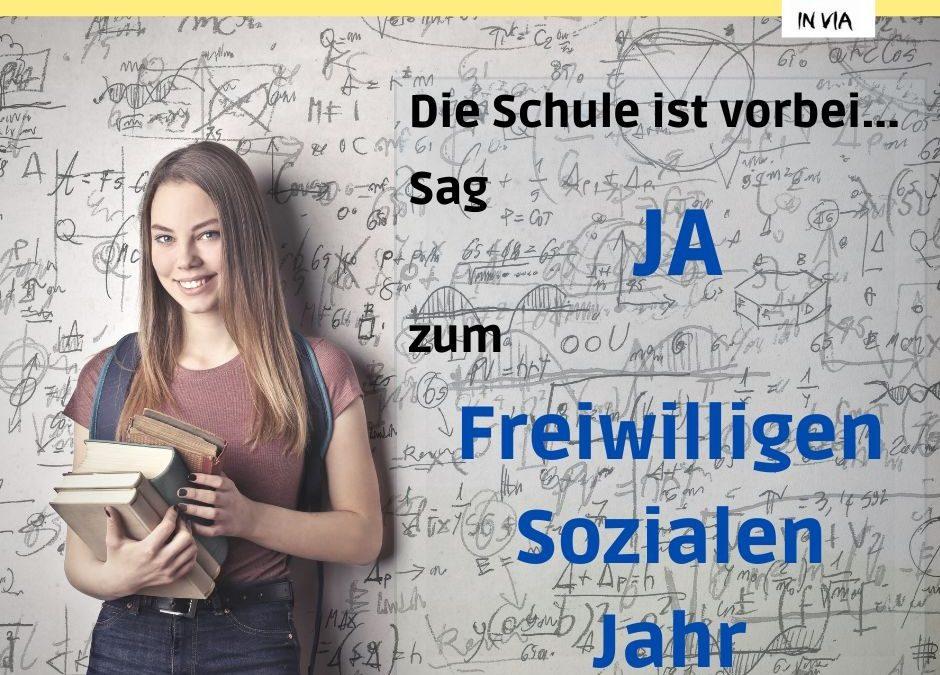 Freiwilliges Soziales Jahr (FSJ) hat begonnen